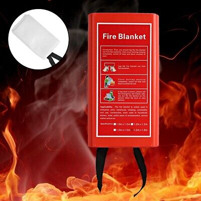 Fire Blanket Emergency Glass fibre Safety Fire Blanket For Kitchen Fireplace