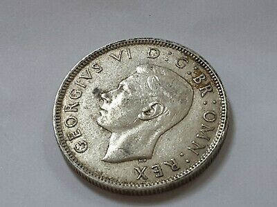 1942 King George VI Silver Florin / Two Shilling coins  - pick your coin