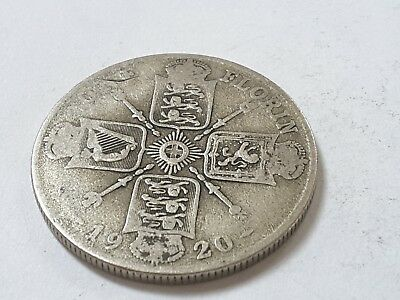 1920 King George V Silver Florin / Two Shilling coins - pick your coin