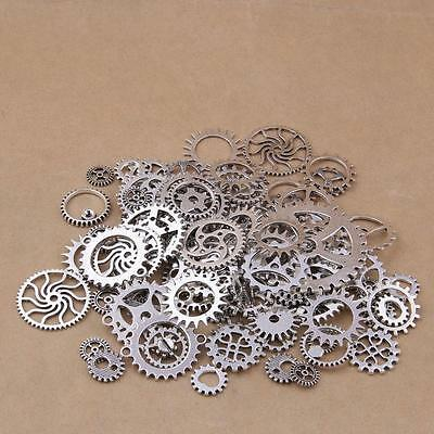 100g Gears Wheels Steampunk Old Watch Parts Steam Punk Lots of Pieces 2019