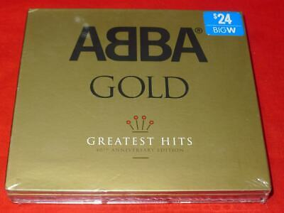 Gold: Greatest Hits [40th Anniversary Edition] [Digipak] by ABBA (CD, Apr-2014,