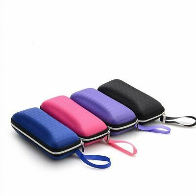 Fashion Eyewear Cases Cover Unisex Sunglasses Box with Lanyard Zipper Portable