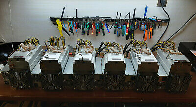 Bitmain Antminer X3 cryptonight miners 6pcs Factory 220kh/s Lot included psu's