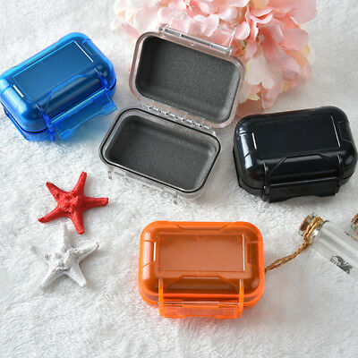 waterproof storage case box holder for hearing aids monitors earphones stor X