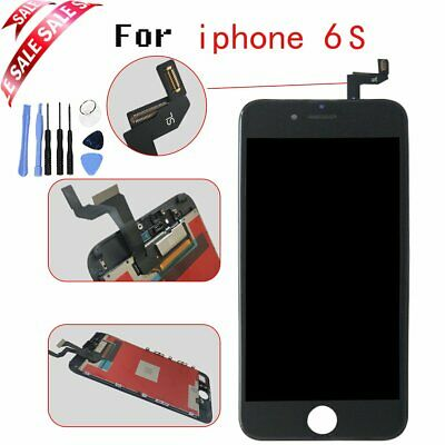 """For iPhone 6S 4.7"""" Black LCD Display Screen Touch Digitizer Replacement + Tools"""