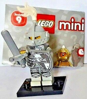 LEGO SERIES 9 MINIFIGURE HEROIC KNIGHT HELMET AND BREAST PLATE ONLY