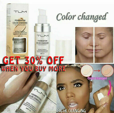 HOT Magic Flawless Color Changing Foundation TLM Makeup Change Skin Tone New