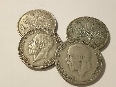 1936 King George VI Silver Florin / Two Shilling coins - pick your coin