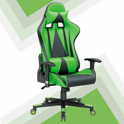 Game Deluxe Imitation Leather Computer Lift Rotating Executive Chair