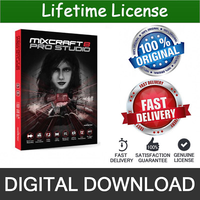 MIXCRAFT MIXCRAFT 8 Pro Studio ⭐ Lifetime Activation Genuine 📥 E-mail  delivery