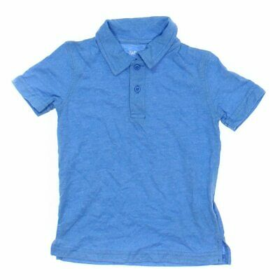 Jumping Beans Boys Polo Shirt, size 3/3T,  light blue,  polyester, cotton