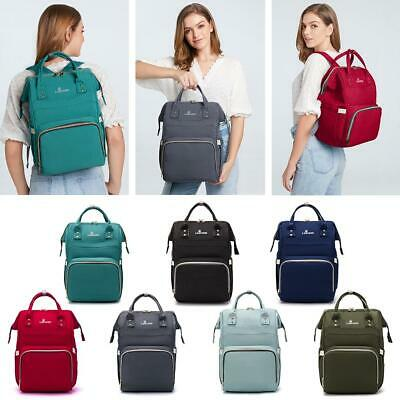 Nappy Mummy Changing Maternity Baby Bag Backpack Diaper Multifunctional Bag