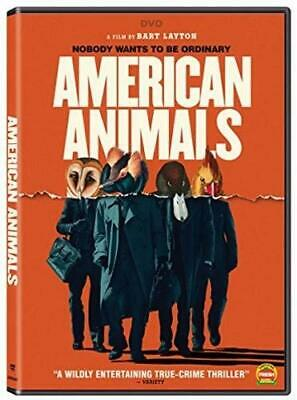 American animals DVD. new with free postage.