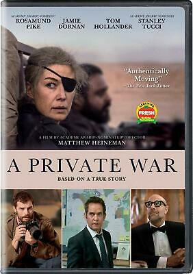 A Private War DVD. New with free postage.