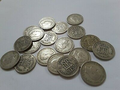 King George VI Lucky Sixpence 1939 Choose your coin