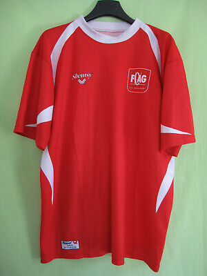 Maillot Rugby AUCH Gers Shemsy spécial tee shirt Vintage - M