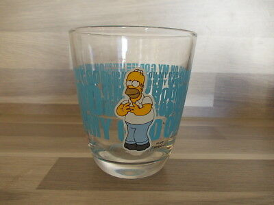 "Vintage collection glass Hoomer OH MY GOD - ""The Simpsons"" 2013"