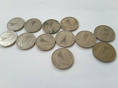 Irish Eire Ireland Sixpence coins - choose your year and coin - 1940 to 1967