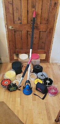 USED:Motor Scrubber, MS5000, w/Brush Assortments, Interchangeable Handle. Tested