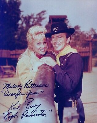 F Troop Tv Cast - Autographed Signed Photograph With Co-Signers