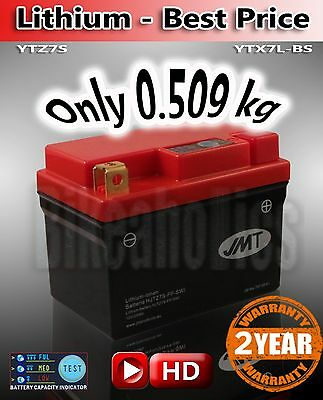 Honda CBR 1000 RR Fireblade 2008 Superlight LITHIUM Li-Ion Battery save 2kg