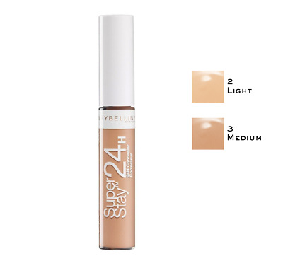 Correcteur Anti-cernes Superstay 24h  02 Light 03 Medium Gemey Maybelline