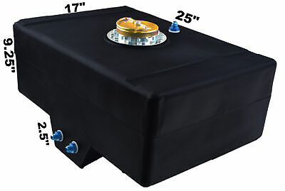 Racerdirect 15 Gallon Racing Fuel Cell With Sump D Ring Cap