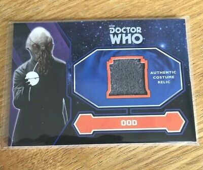 Topps 2015 Doctor Who Ood Alien Costume Relic Trading Card