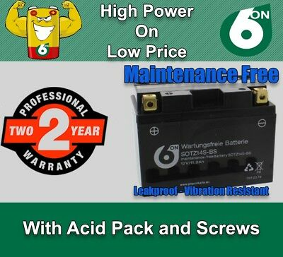 Maintenance Free Battery - TTZ14S-BS  for BMW Scooters