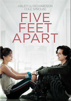 Five Feet Apart 2019 DVD. New with free postage.