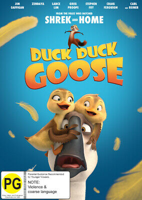 Duck Duck Goose 2018 DVD. new with free postage.