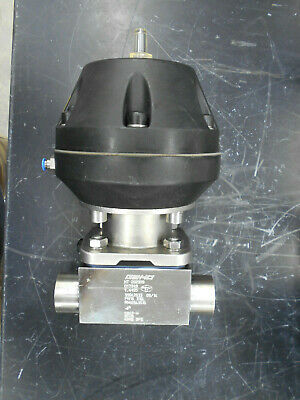 "Gemu 2038101 Diaphragm Valve W/ 1.5"" Butt Welds"