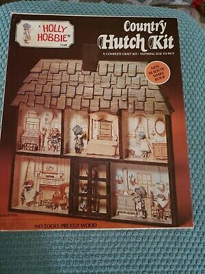 Holly Hobbie Country Hutch craft Kit - unfinished
