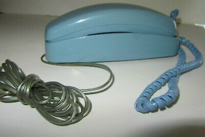 At&t Blue Princess phone With Both Cords Works Great Rings Well