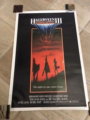 Halloween Iii Season Of The Witch Original 1982 1 Sheet Poster 27X41 Rolled Rare