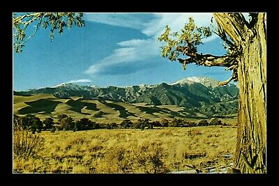 Dr Jim Stamps Us Great Sand Dunes National Monument View Chrome Postcard