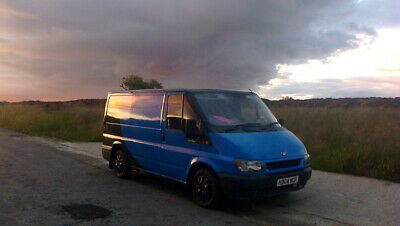 breaking news .LULU IS FOR SALE. the coolest  stealth van. swb. ford TRANSIT.