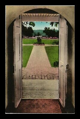Dr Jim Stamps Us Archway Monticello Ash Lawn Charlottesville Postcard
