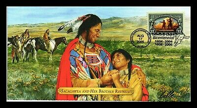 Dr Jim Stamps Us Sacagawea And Brother Lewis Clark Bicentennial Cover Dillon