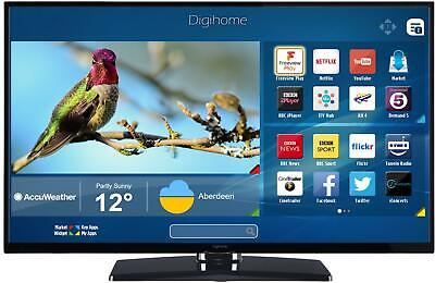 (Grade B) Digihome 55UHDHDR 55 Inch 4K UHD D-LED Smart HDR TV with Freeview Play