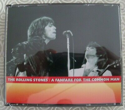 "Rolling Stones ""A Fanfare For The Common Man"" 4Cd Live Boston Garden 11-12/06/75"