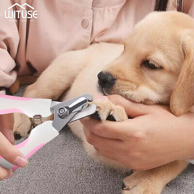 Pet Dog Cat Nail Trimmer Cutter Grooming Tool Grinder Clipper+Free Nail File D2