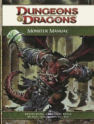 Dungeons & Dragons Monster Manual: Roleplaying Game Core Rules, 4th Edition Mike