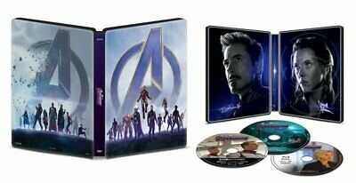 Avengers: Endgame [SteelBook] [4K+Blu-ray+Digital Code] New & Sealed - PRE-ORDER