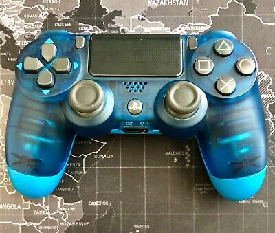 Sony PlayStation 4 PS4 Dualshock 4 Wireless Controller 2ND GEN (Crystal Blue)