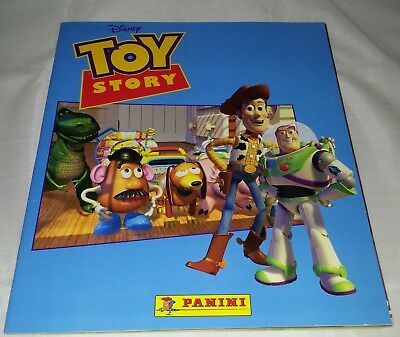 Vintage Panini : Toy Story Sticker Album from 1995 : 100% Complete...