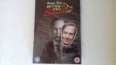 Better Call Saul Season 4 DVD Watched Once - REGION 2