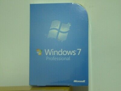 Microsoft Windows 7 Pro 32+64 Bit with DVD Full Version