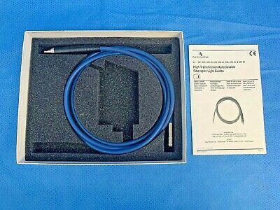 Gyrus Acmi G93 High Transmission Autoclavable Fiberoptic Light Cable Guide 7ft