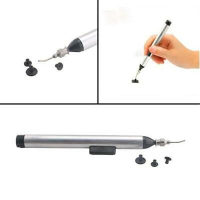Manual Soldering Vacuum Pick Up Pen IC SMT-SMD Tools Hand Suction /&3 Vacuum Pads